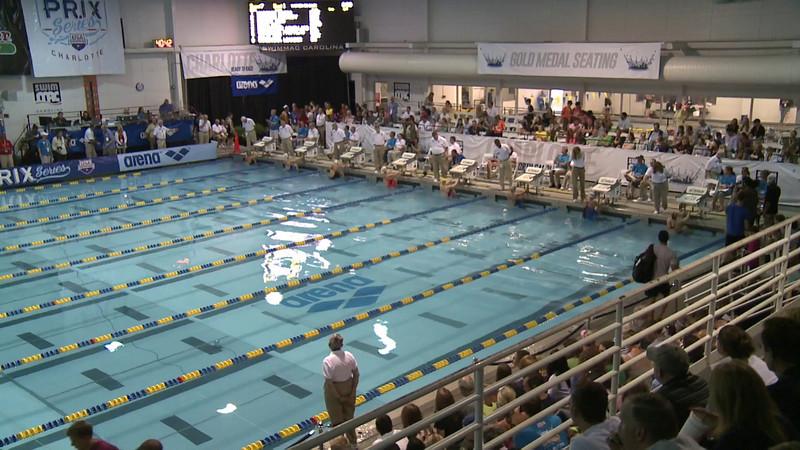 Women's 50 Backstroke B Final