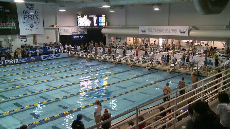 Women's 50 Backstroke Heat 6
