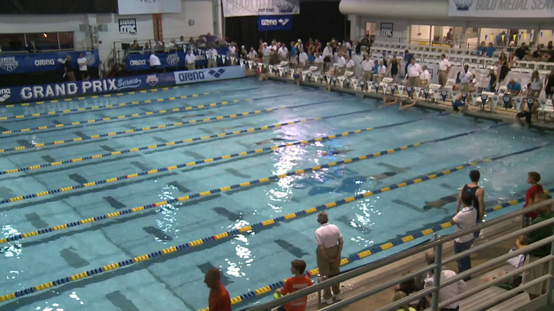 Men's 100 Breaststroke D Final