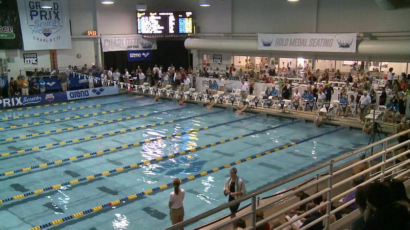 Women's 50 Backstroke Heat 5
