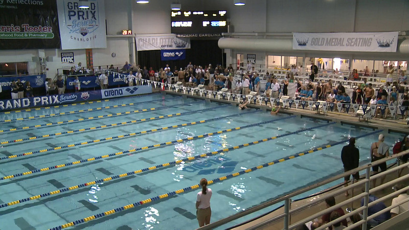 Women's 50 Backstroke Swim Off 1