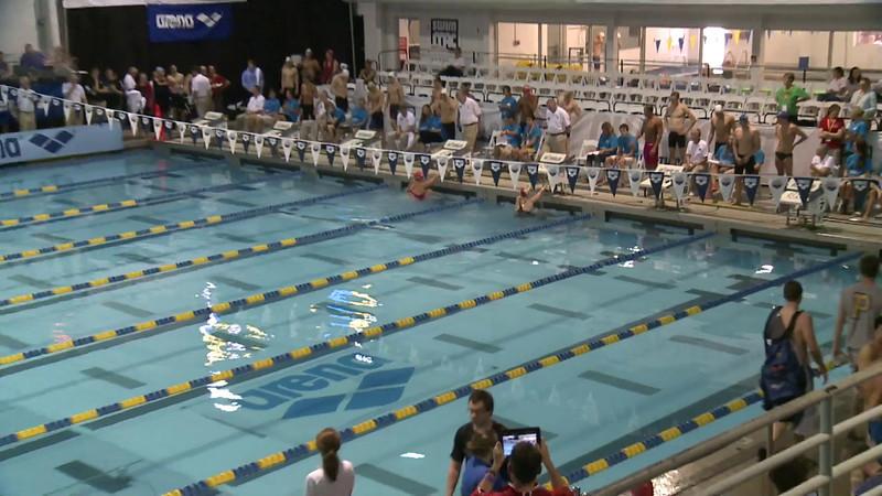 Women's 50 Backstroke Swim Off 2