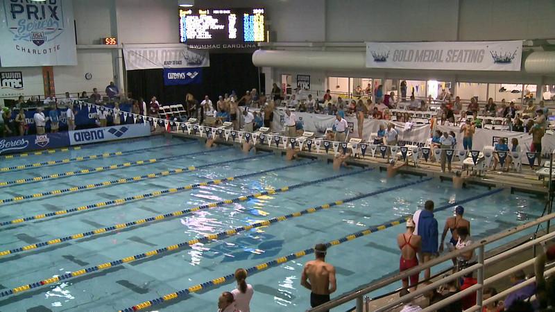Men's 50 Backstroke Heat 1