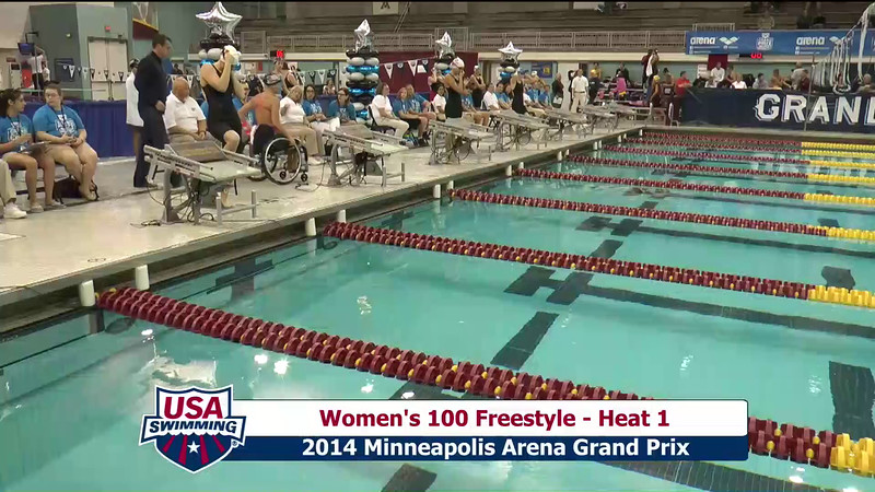 Womens 200 Freestyle
