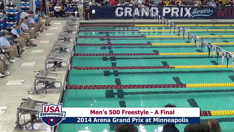 Mens 500 Freestyle