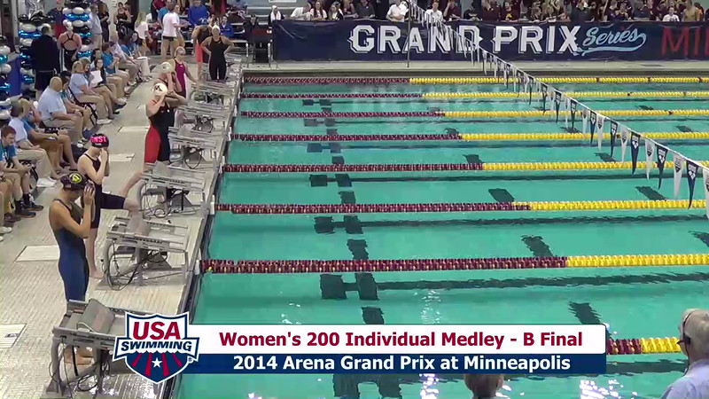 Womens 200 Medley