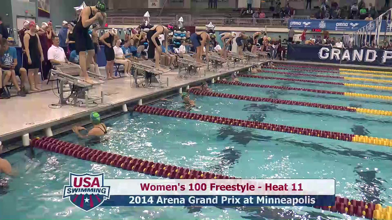 Womens 100 Freestyle