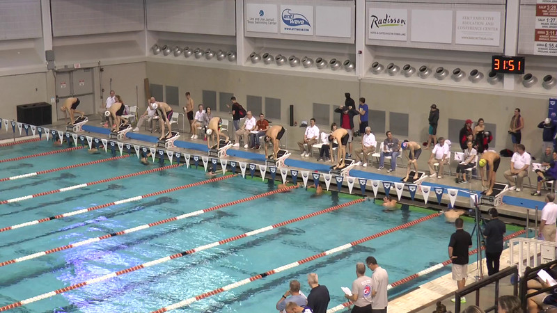 Mens 400 Freestyle Heat 3