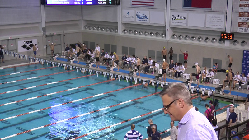 Mens 400 Freestyle B Final