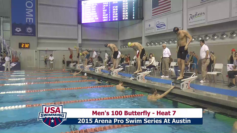 Mens 100 Breaststroke Heat 7