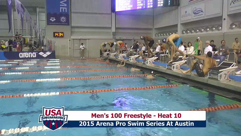 Mens 100 Freestyle Heat 10