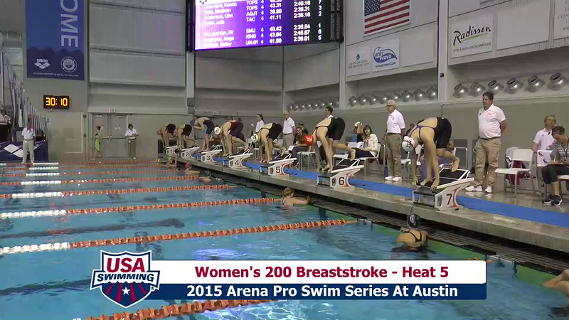 Womens 200 Butterfly Heat 5