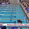 Womens 400 Freestyle Relay Heat 2