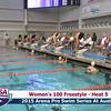 Womens 100 Freestyle Heat 5