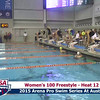Womens 100 Freestyle Heat 13