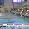 Womens 100 Freestyle Heat 12