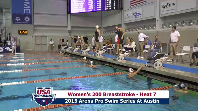 Womens 200 Butterfly Heat 7