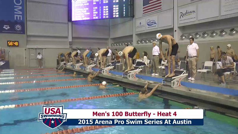Mens 100 Breaststroke Heat 4
