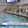 Womens 100 Freestyle Heat 7