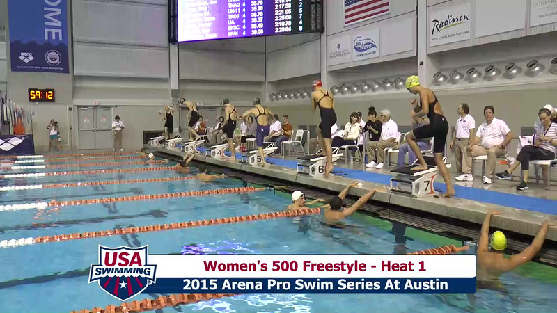 Womens 400 Freestyle Heat 1