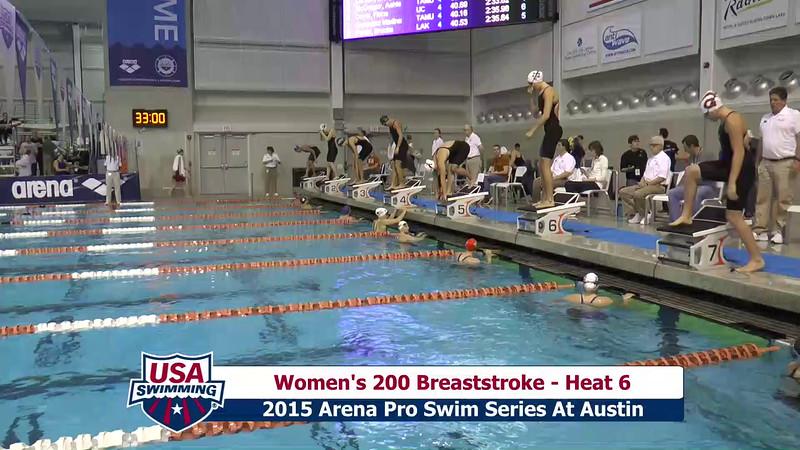 Womens 200 Butterfly Heat 6