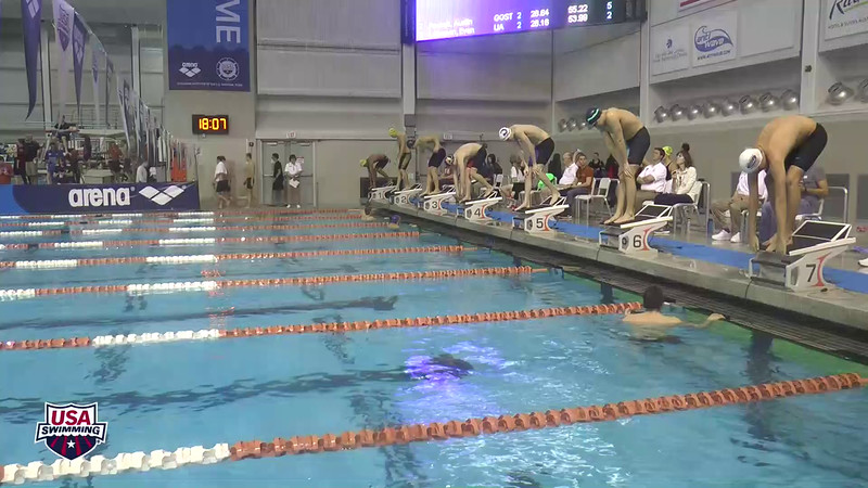 Mens 100 Freestyle Heat 13