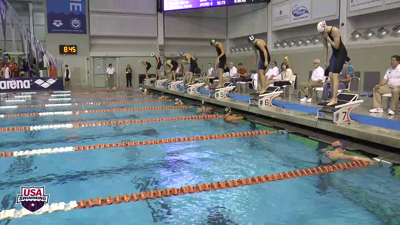 Womens 400 Freestyle Heat 3