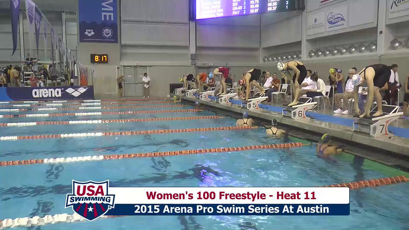 Womens 100 Freestyle Heat 11
