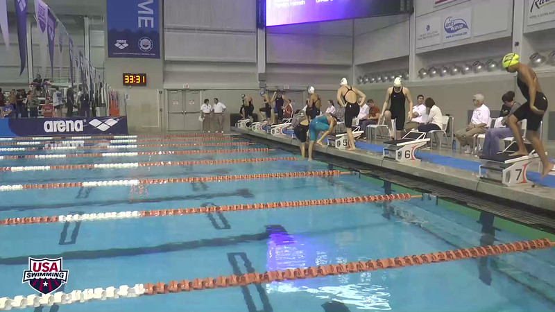 Womens 400 Freestyle Heat 6