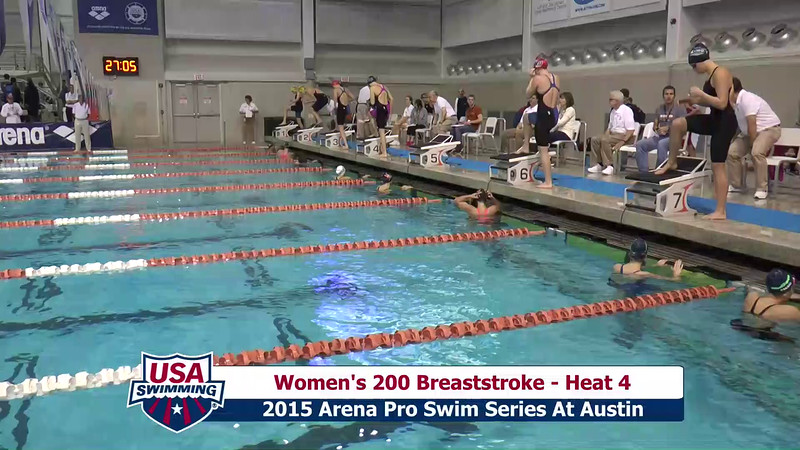 Womens 200 Butterfly Heat 4
