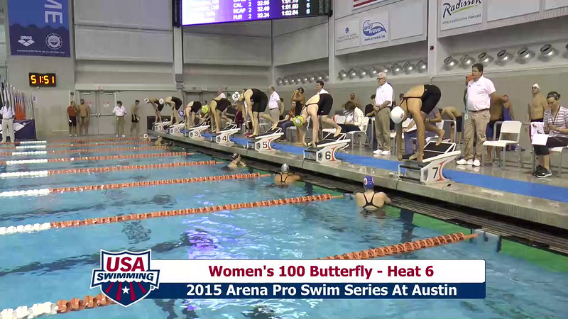 Womens 100 Breaststroke Heat 6