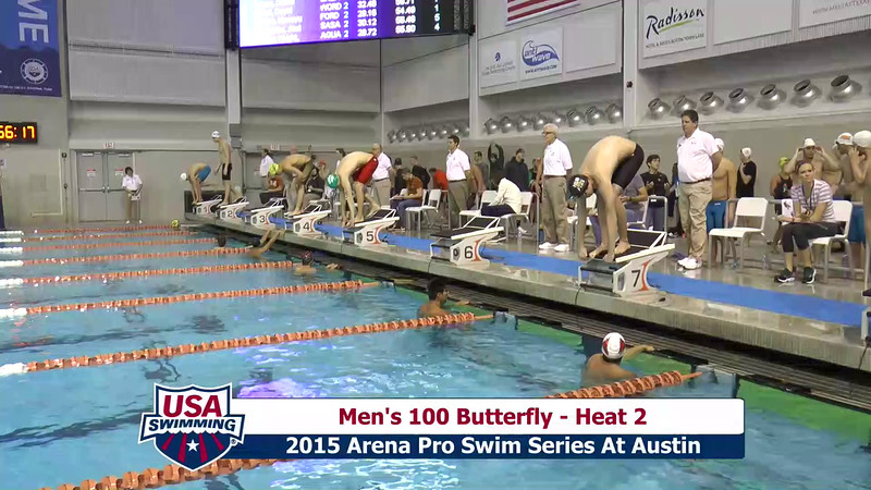 Mens 100 Breaststroke Heat 2