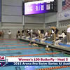Womens 100 Breaststroke Heat 5