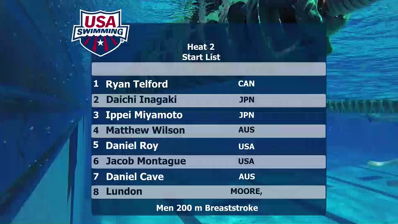 A Final | Event 30 Mens 200 Butterfly | 2016 Jr Pan Pacific Championships