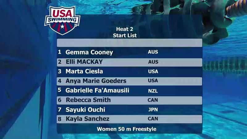 A Final | Event 27 Womens 50 Freestyle | 2016 Jr Pan Pacific Championships