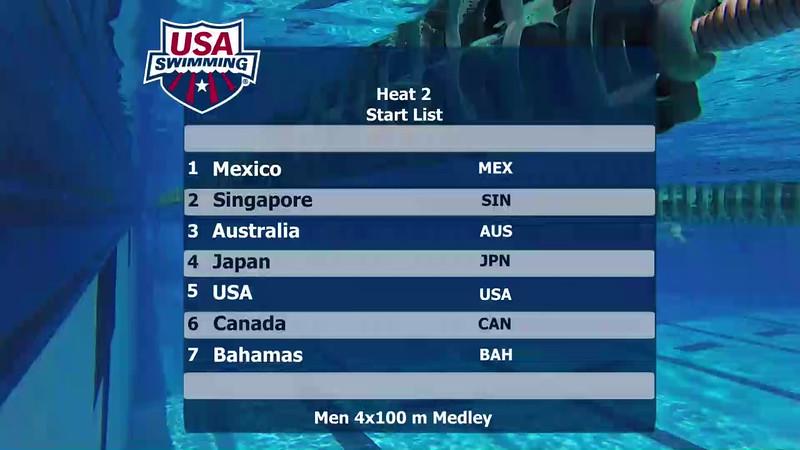 Heat 2   Event 34 Mens 400 Medley Relay   2016 Jr Pan Pacific Championships