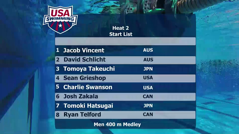 A Final | Event 14 Mens 400 Medley | 2016 Jr Pan Pacific Championships