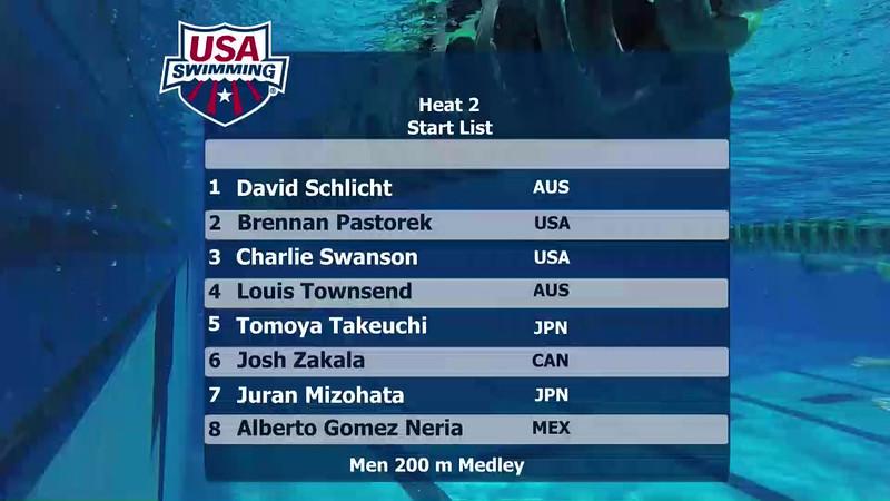 A Final | Event 26 Mens 200 Medley | 2016 Jr Pan Pacific Championships