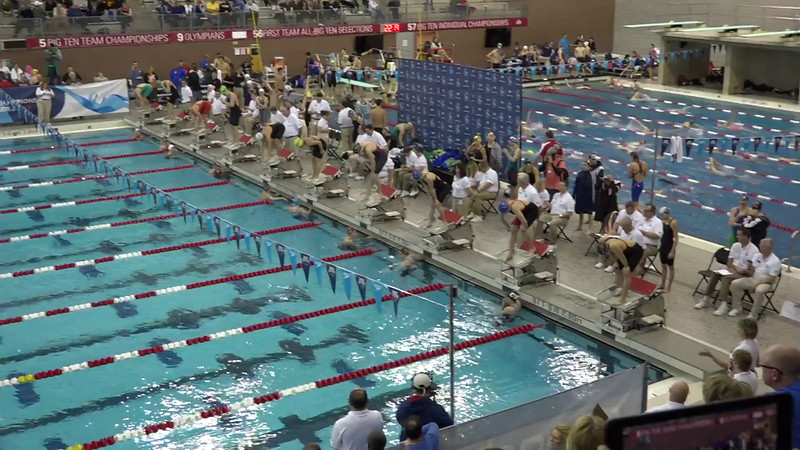 Heat 3 | #31 Women 200 Breast | 2016 SPEEDO WINTER JR. CHAMPIONSHIPS EAST | VIDEO