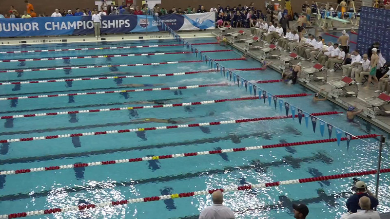 Heat 1 | #6 Men 500 Free | 2016 SPEEDO WINTER JR. CHAMPIONSHIPS EAST | VIDEO