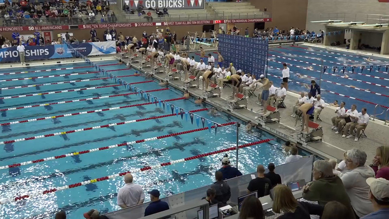 Heat 5 | #6 Men 500 Free | 2016 SPEEDO WINTER JR. CHAMPIONSHIPS EAST | VIDEO