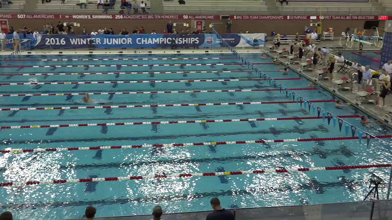Heat 3 | #25 Women 1650 Free | 2016 SPEEDO WINTER JR. CHAMPIONSHIPS EAST | VIDEO