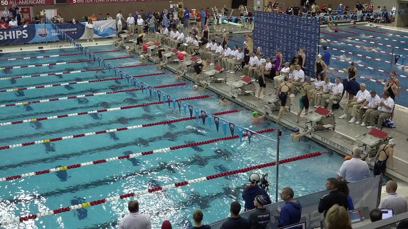 Heat 8 | #27 Women 200 Back | 2016 SPEEDO WINTER JR. CHAMPIONSHIPS EAST | VIDEO