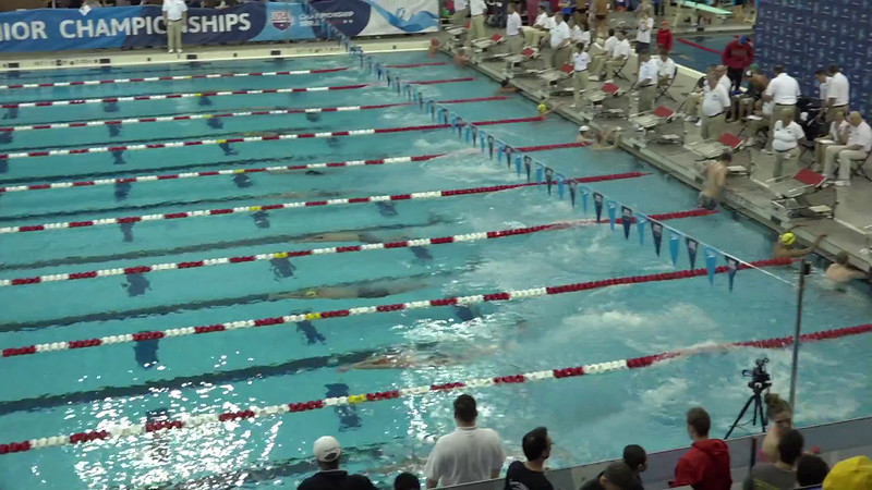 Heat 6 | #14 Men 400 IM | 2016 SPEEDO WINTER JR. CHAMPIONSHIPS EAST | VIDEO
