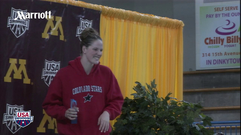 Missy Franklin Women's High Point Winner