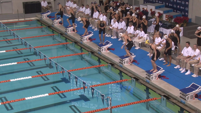 Women's 200m Freestyle Relay Heat 01 - 2012 USA Swimming Winter Nationals