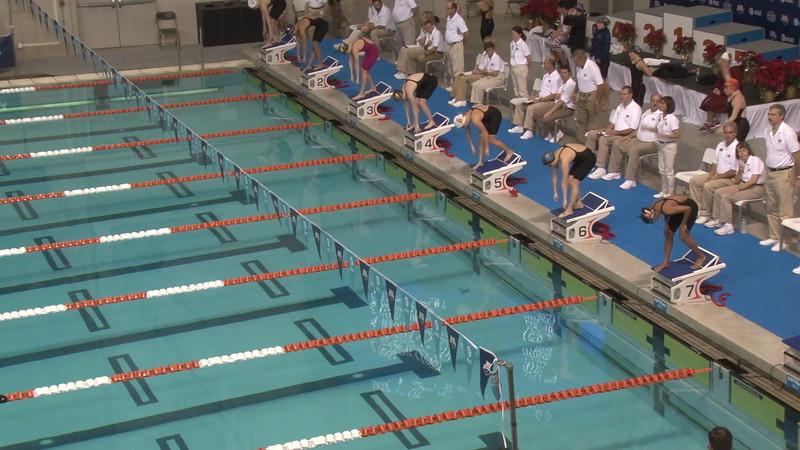Women's 200m Breaststroke Heat 01 - 2012 USA Swimming Winter Nationals