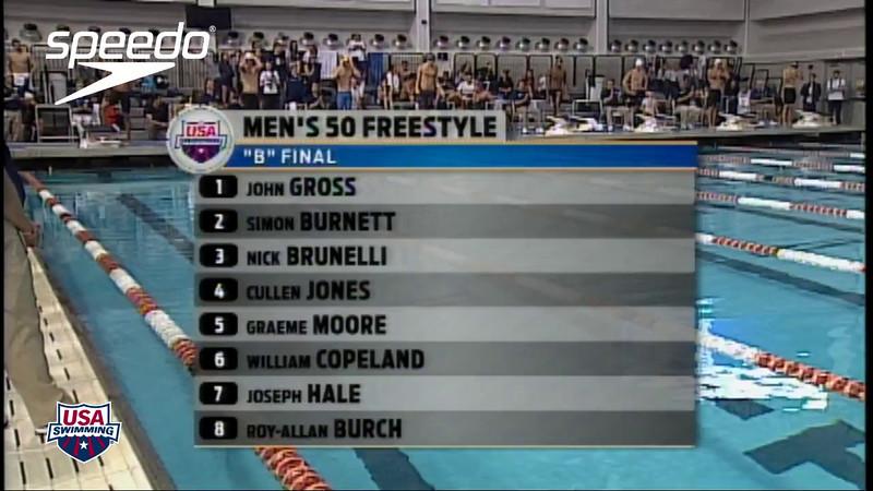 2012 Austin Grand Prix - Men's 50m B Final