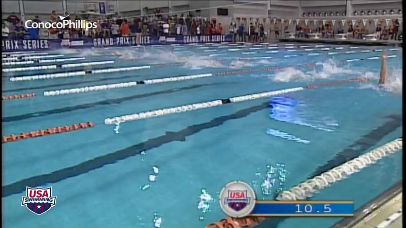 2012 Austin Grand Prix - Men's 100m Backstroke B Final