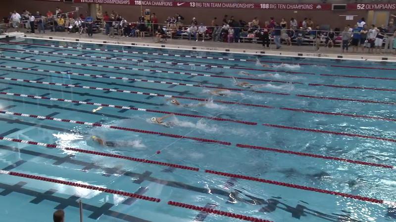 Women's 200m Freestyle Heat 1 - 2012 Columbus Grand Prix